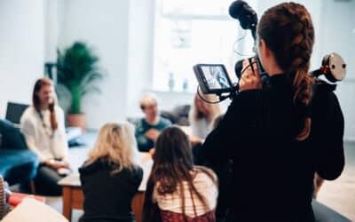 1.12.2020 Beginn der Ausbildung Video-Journalist/in