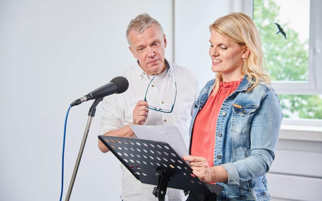 Nächster Start: Grundlagen Sprecher-Training ONLINE in der Kleingruppe ab 25.9.2021