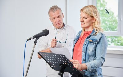 Nächster Start: Grundlagen Sprecher-Training online ab 8.5.21
